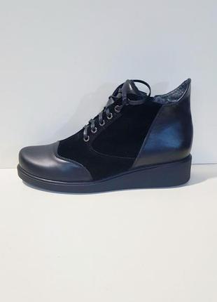 Ботинки 42-43 р кожа большого размера