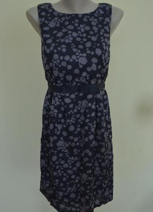 Шикарное английское платье вискоза котон