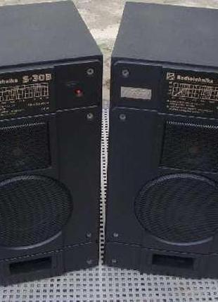 Шикарные AC Radiotehnika S30 Black 8Ом Апгрейд