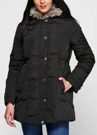 Куртка парка пуховая женская incity жіноча тепла пухова инсити