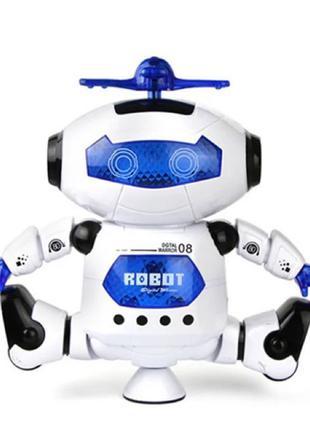 Танцующий светящийся робот Dancing Robot | Детская игрушка музыка