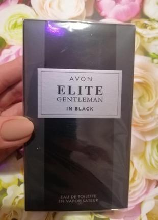 Туалетная вода elite gentleman in black