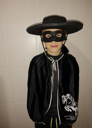 Карнавальный костюм детский зорро/ zorro