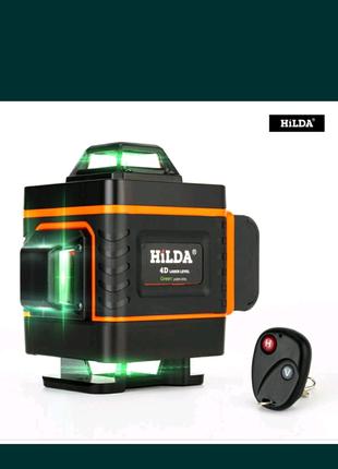 Лазерный уровень зеленый 4 д