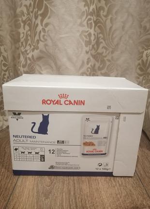 Влажный корм Royal Canin Neutered для стерилизованных кошек 12 шт
