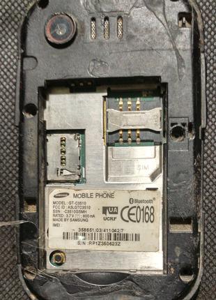 Samsung GT-C3510 Corby Pop