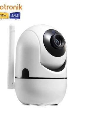 Поворотная WiFi IP Камера Для Дома И Квартиры Видеоняня