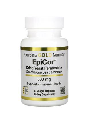 EpiCor, Эпикор, 500 мг, California Gold Nutrition, 30 капсул
