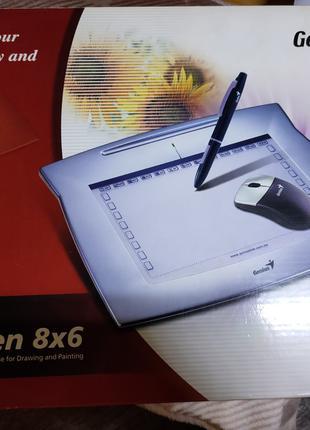 Графический планшет Genius MousePen i608X 31100060101