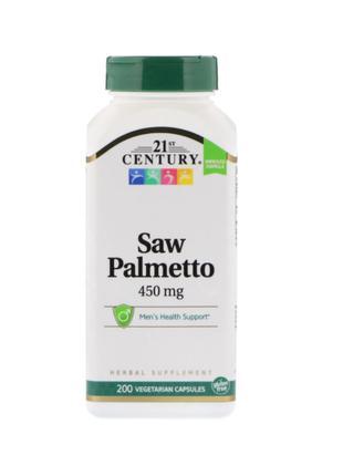 Здоровье Простаты Со Пальметто Saw Palmetto, 21st Century, 200 Шт