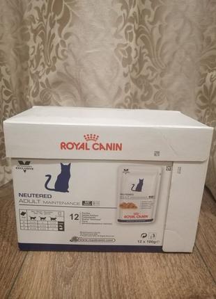 Влажный корм Royal Canin Neutered для стерилизованных кошек 12...