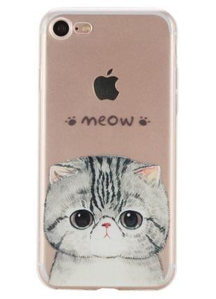 Новый силиконовый чехол на айфон iPhone 7+