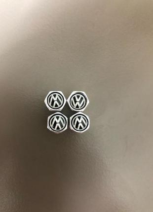 Колпачки на ниппеля с логотипом  Volkswagen