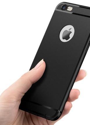 Новый чёрный чехол на айфон 7+ и 8