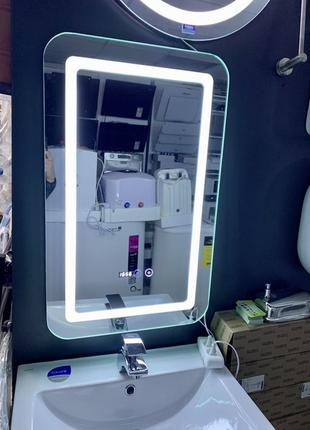 Зеркало для ванной с led подсветкой