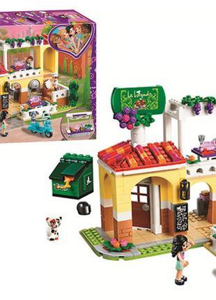 Конструктор LARI 11379 Ресторан Хартлейк Сити LEGO Friends 41379