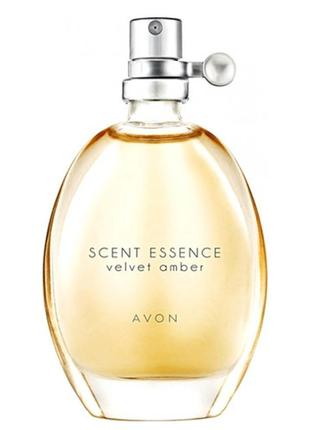 Туалетная вода avon scent essence velvet amber 30 мл