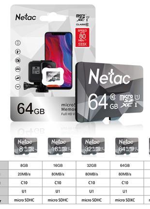 Micro SD Card Class10 Memory Card 64GB  SD/TF Flash