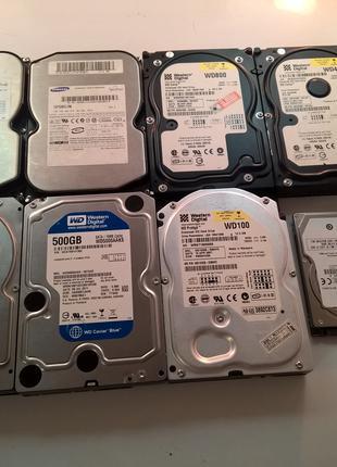 HDD  диски 8 шт. одним лотом
