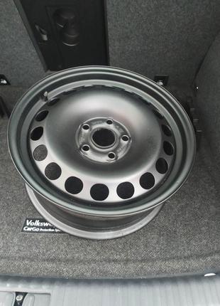 Диск стальной VW 5*112 R16 ET33 5NO601027B