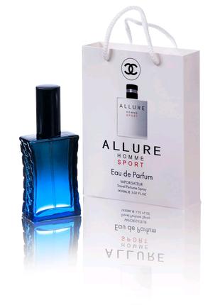 Chanel Allure Homme Sport (Шанель Аллюр Хоум Спорт) в подарочной
