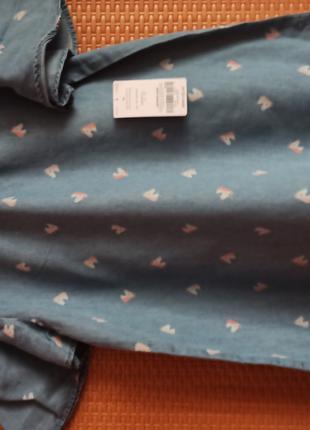 Котоновая блузка для девочки