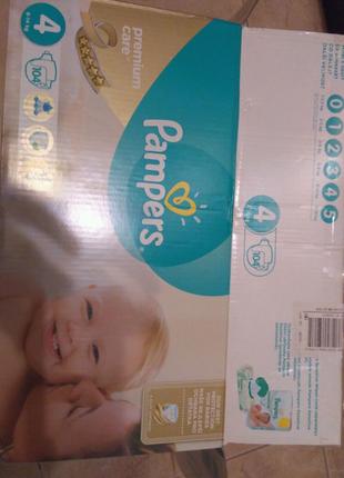 Подгузники фирмы Памперс Pampers, Польша, распродажа