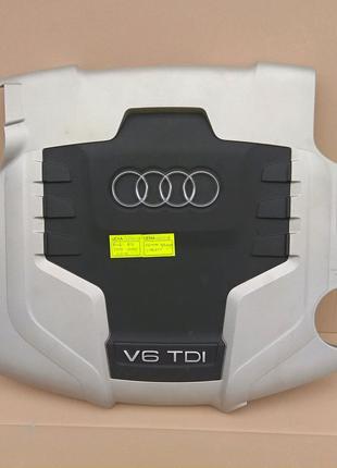 Декоративная крышка двигателя Audi A4 B8 3.0 TDI 059103925AQ ауді