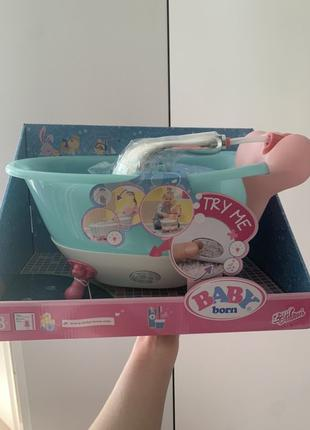 Ванночка для куклы BABY BORN - Веселое купание беби борн ванна...