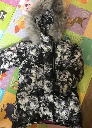 Зимняя курточка WOJCIK с натуральным мехом новая с бирками