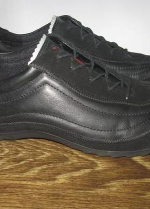Кожаные туфли ecco р.40