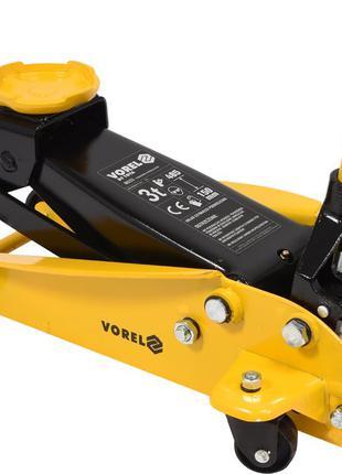 Домкрат гидравлический подкатной VOREL 3 т 150-485 мм