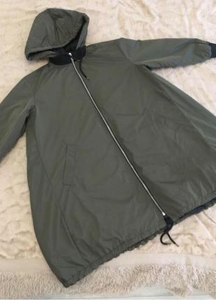 Куртка большого размера, демисезон