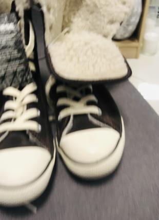 Converse кеды женские , зима