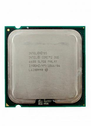 Intel Core 2 Duo E6600 2.4GHz/4M /1066. LGA775