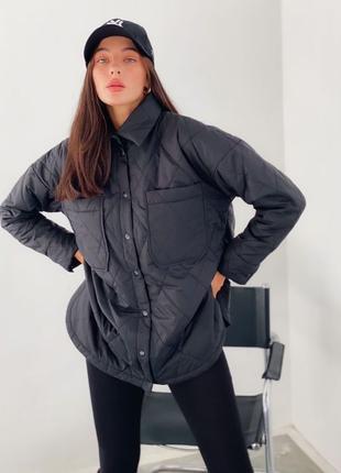 Куртка Теплая куртка Стеганная куртка Куртка женская Женская о...