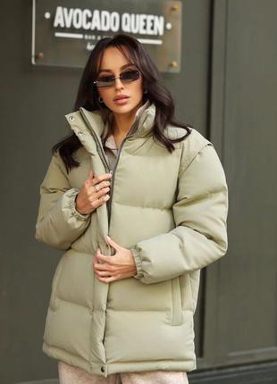 Куртка Теплая куртка Куртка жилетка Женская куртка