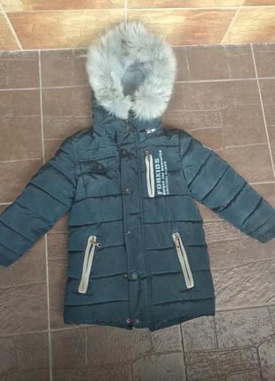 Зимние пальто для мальчика 3-4 года