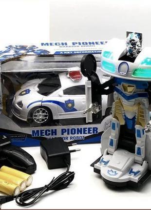 Радиоуправляемая машина-трансформер Mech Pioneer