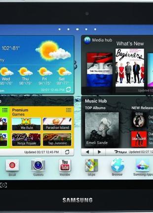 Планшет Samsung Galaxy Tab 2 10.1 16GB P5113 Titanium Silver