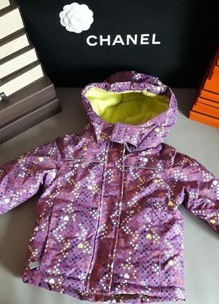 Topomini! бренд! оригинал! куртка/дутик, теплая, не продуваема...