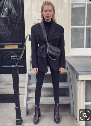 Пиджак жакет унисекс мужской т-синий la moda,p.l