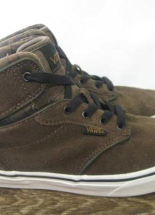 Замшевые кроссовки (кеды) vans р.37 оригинал