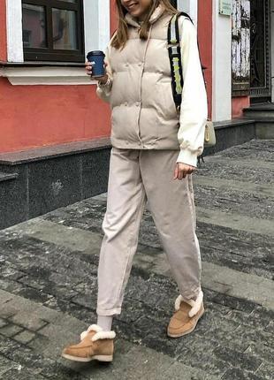 Лоферы женские зимние натуральная замша