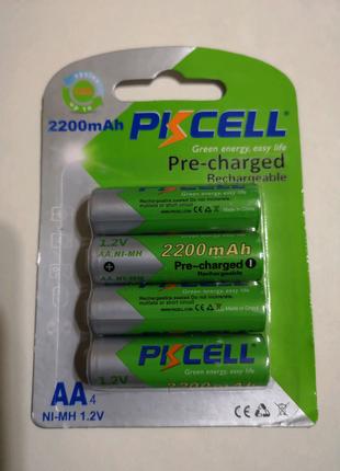 Аккумуляторы АА PKCELL 2200mAh