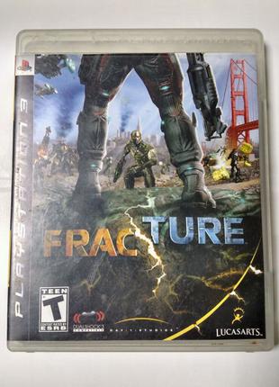 Игра диск FracTure для PS3