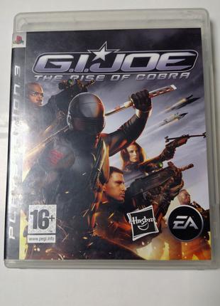 Игра диск G. I. Joe The Rise of Cobra для PS3