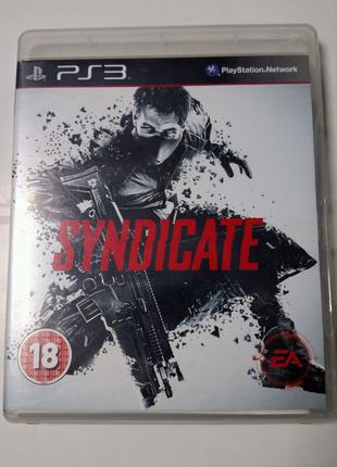 Игра диск Syndicate для PS3