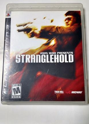 Игра диск Stranglehold для PS3