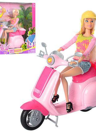 Кукла с мопедом 99044